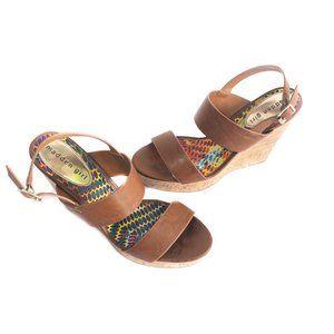 ✨3/$25✨ Madden Girl Cork Wedge Sandals - Size 8.5